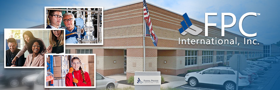 FPC International exterior with images of employees.