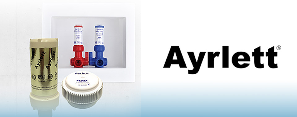 Ayrlett logo and products